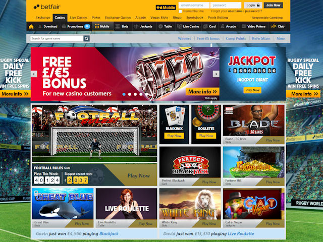 Betfair screenshot 1